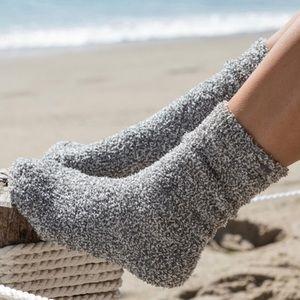 NWT Barefoot Dreams Heathered Cozy Lounge Socks